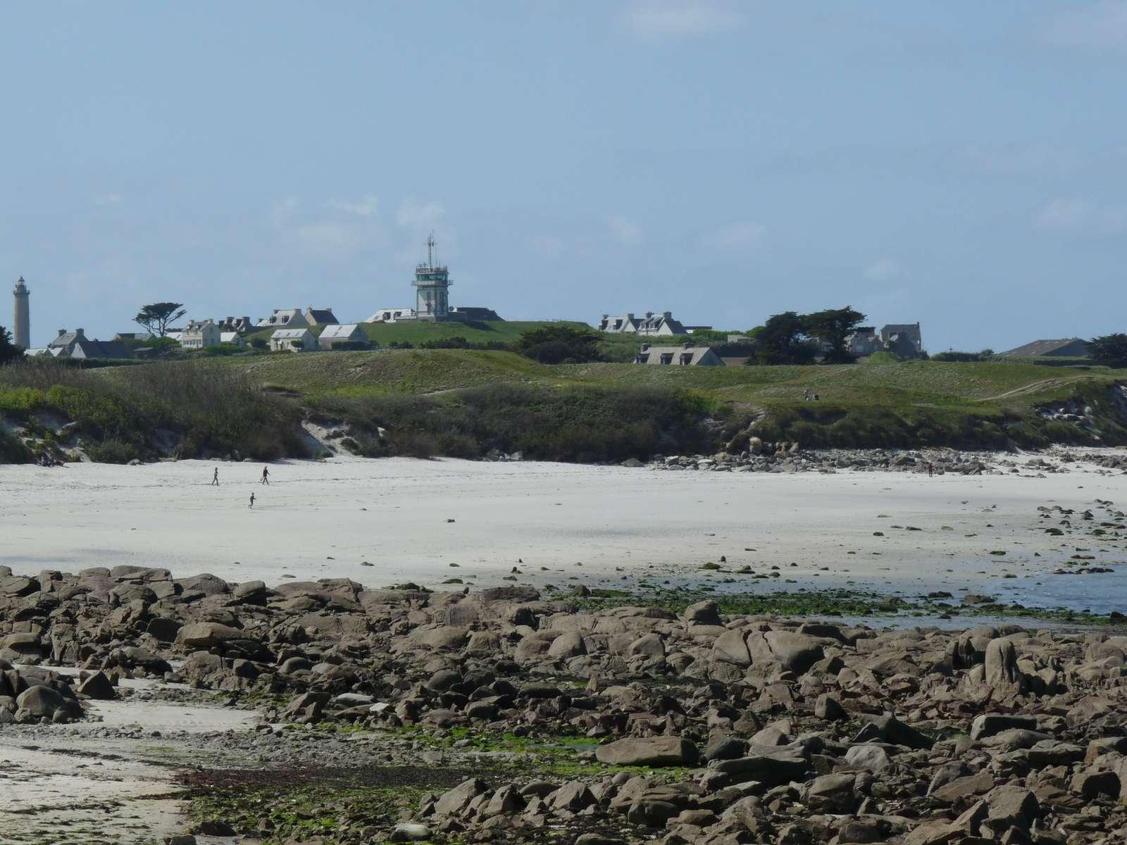 Batz Island beach