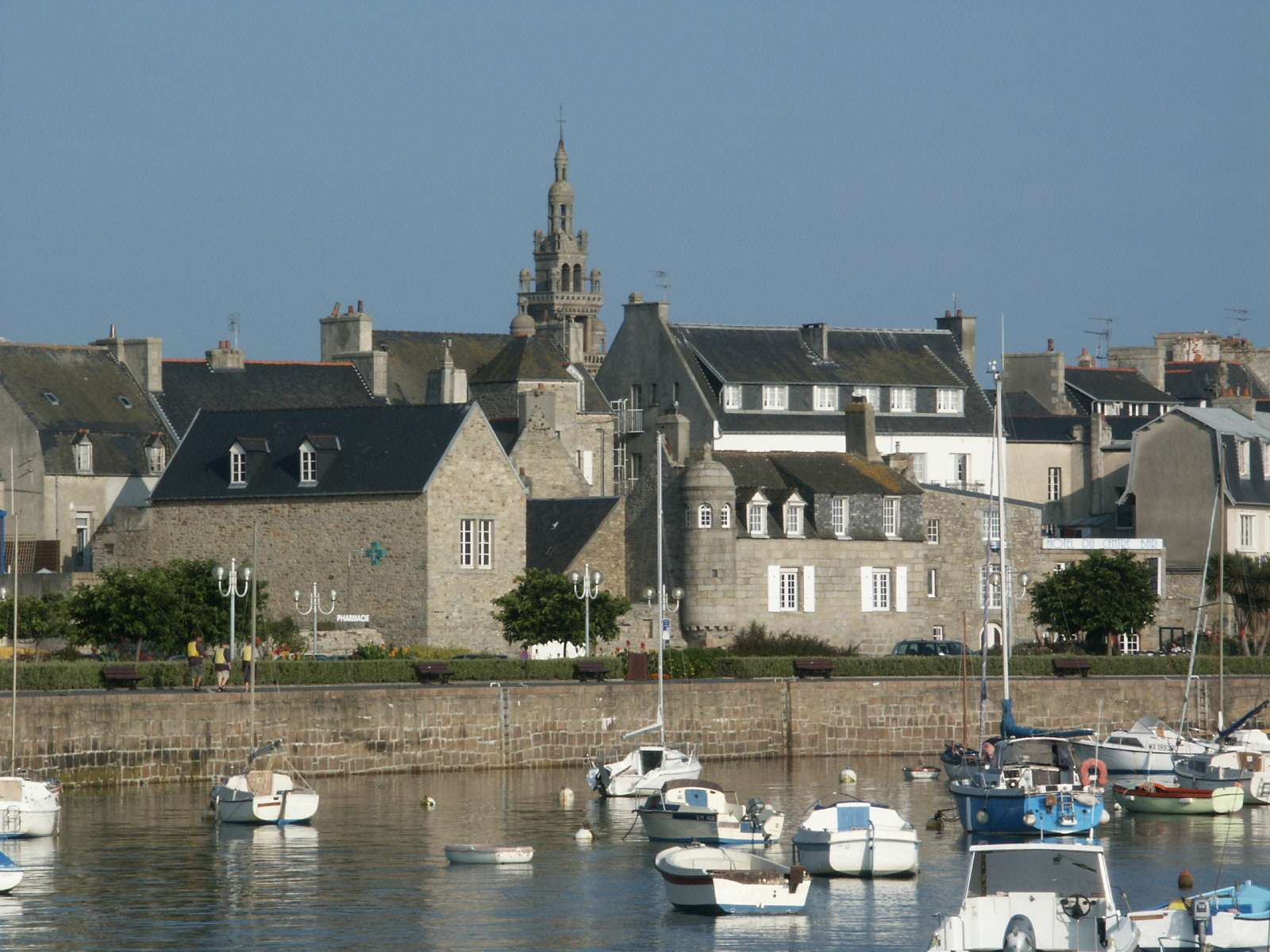 Roscoff church