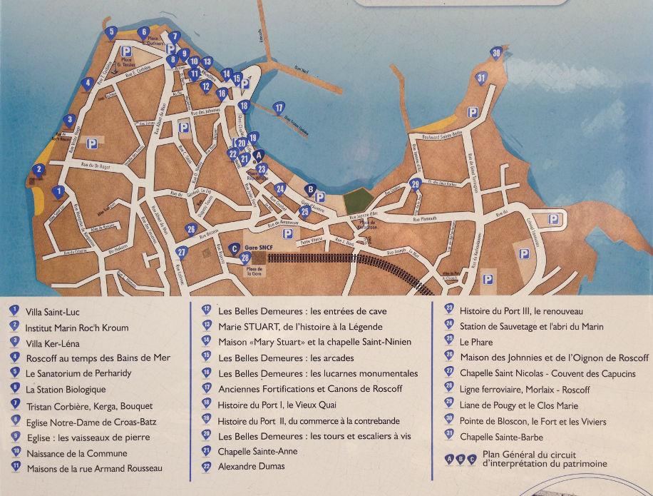 roscoff heritage tour