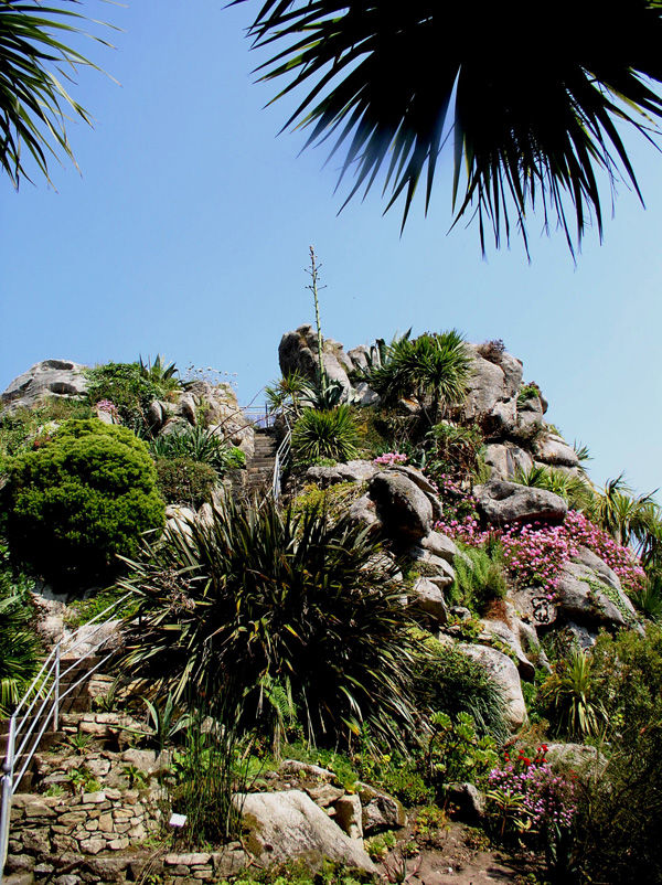 Exotic garden of Roscoff