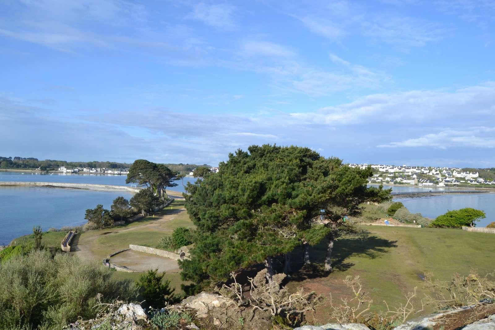 The rock of l'Îlot Sainte Anne